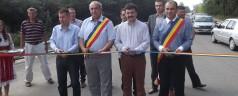 S-a inaugurat drumul de la podul Pecica la Sânmartin